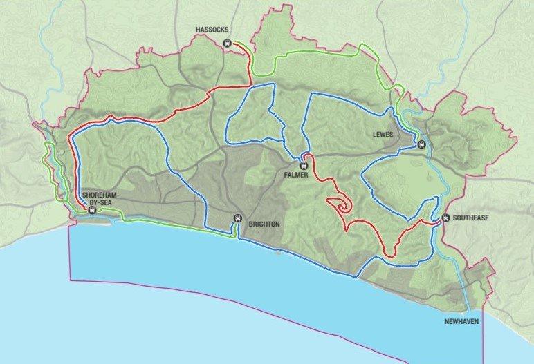 The Living Coast by Bike