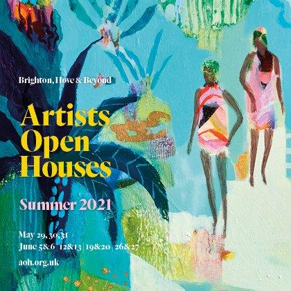 Artist Open Houses poster