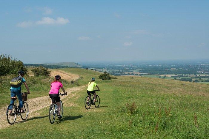 Explore the Living Coast by bike