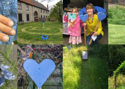 Blue Hearts for rewilding