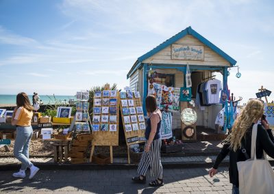 Photo by Liz Finlayson/Vervate The Living Coast, the Brighton & Lewes Downs UNESCO Biosphere Region includes land and sea from Shoreham to Newhaven. Brighton beach and seafront July 21