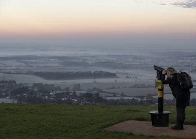 Photo by Liz Finlayson/Vervate The Living Coast, the Brighton & Lewes Downs UNESCO Biosphere Region includes land and sea from Shoreham to Newhaven. Devils Dyke early morning