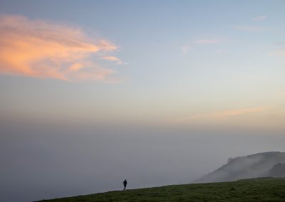 Photo by Liz Finlayson/Vervate The Living Coast, the Brighton & Lewes Downs UNESCO Biosphere Region includes land and sea from Shoreham to Newhaven. Ditching Beacon sunrise