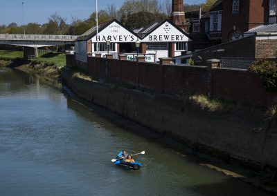 Photo by Liz Finlayson/Vervate The Living Coast, the Brighton & Lewes Downs UNESCO Biosphere Region includes land and sea from Shoreham to Newhaven. Lewes and District Lewes River Ouse