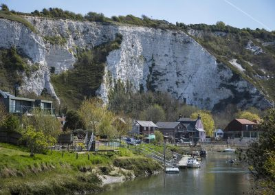 Photo by Liz Finlayson/Vervate The Living Coast, the Brighton & Lewes Downs UNESCO Biosphere Region includes land and sea from Shoreham to Newhaven. Lewes and District Lewes Railway Land and Egrets Way