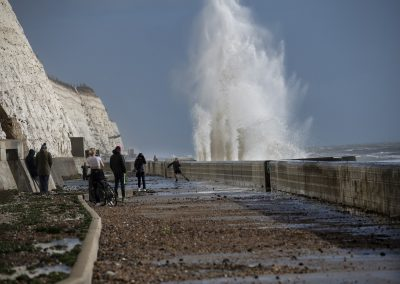 Photo by Liz Finlayson/Vervate The Living Coast, the Brighton & Lewes Downs UNESCO Biosphere Region includes land and sea from Shoreham to Newhaven. Undercliff Walk between Brighton and Saltdean